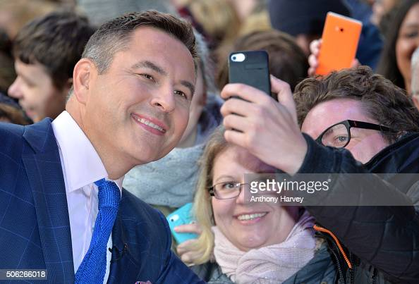 David Walliams attends the Britain's Got Talent Auditions on January 22 2016 in London England