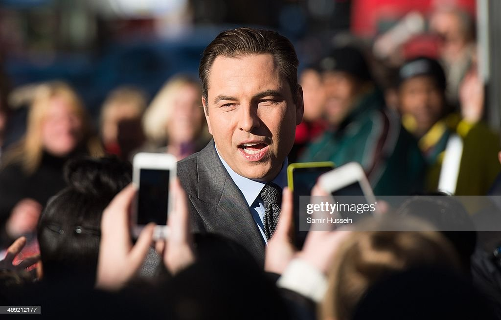 <a gi-track='captionPersonalityLinkClicked' href=/galleries/search?phrase=David+Walliams&family=editorial&specificpeople=203020 ng-click='$event.stopPropagation()'>David Walliams</a> attends the Britain's Got Talent London auditions at the Hammersmith Apollo on February 13, 2014 in London, England.