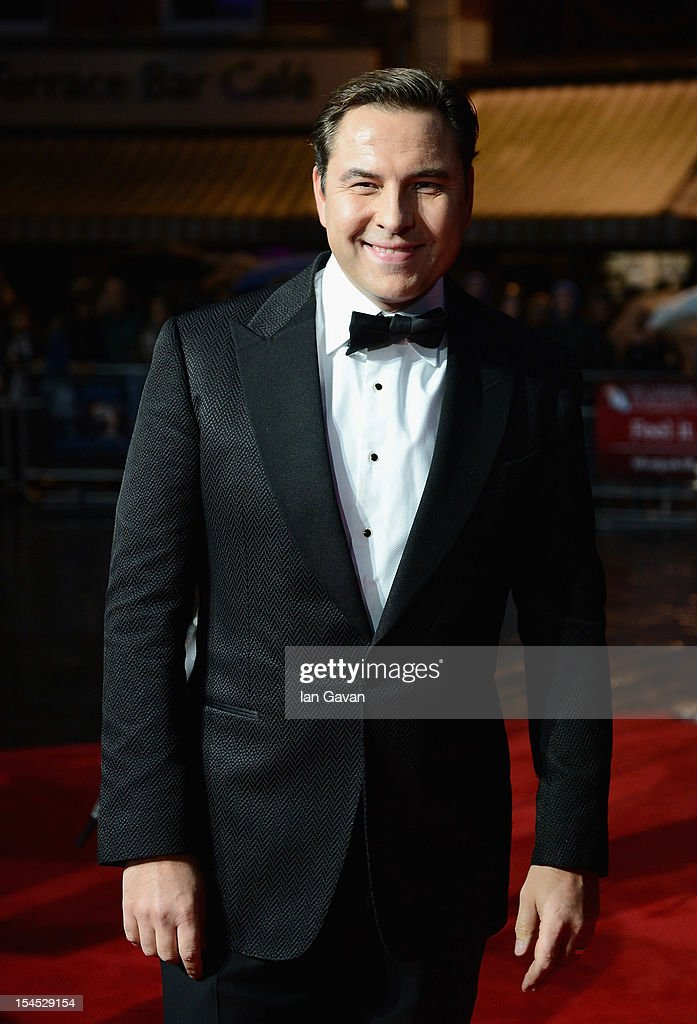 <a gi-track='captionPersonalityLinkClicked' href=/galleries/search?phrase=David+Walliams&family=editorial&specificpeople=203020 ng-click='$event.stopPropagation()'>David Walliams</a> attends the Closing Night Gala of 'Great Expectations' during the 56th BFI London Film Festival at Odeon Leicester Square on October 21, 2012 in London, England.