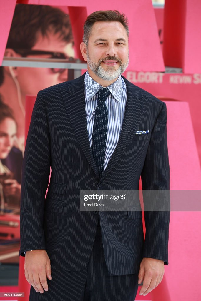 David Walliams attends the European premiere of 'Baby Driver' on June 21, 2017 in London, United Kingdom.