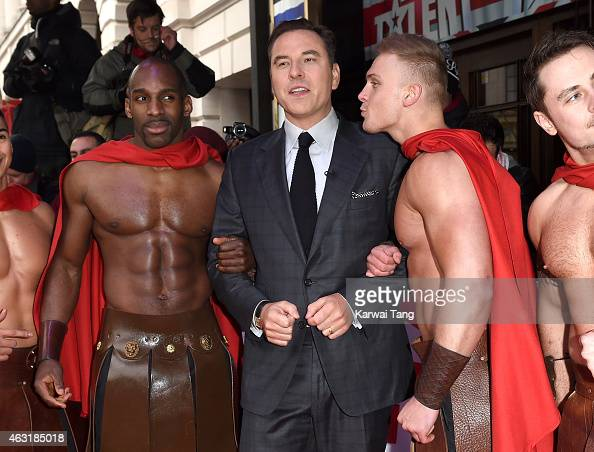 David Walliams attends the London auditions for Britain's Got Talent at Dominion Theatre on February 11 2015 in London England