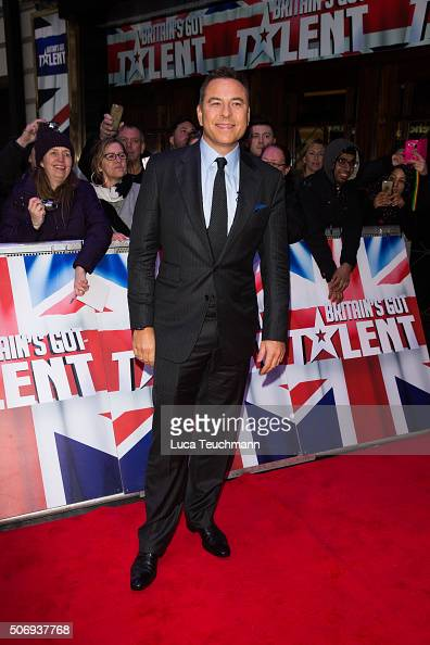 David Walliams attends the London auditions of 'Britain's Got Talent' at Dominion Theatre on January 26 2016 in London England