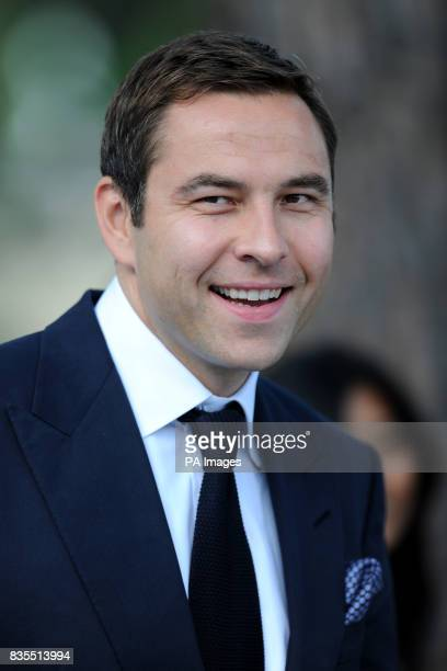 David Walliams during the Fashion Show at The Amber Lounge Le Meridien Beach Plaza Hotel Monaco