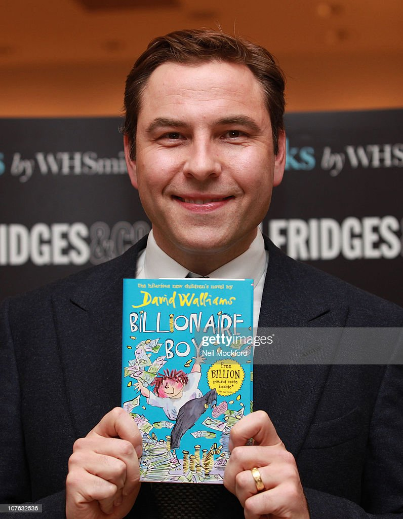 <a gi-track='captionPersonalityLinkClicked' href=/galleries/search?phrase=David+Walliams&family=editorial&specificpeople=203020 ng-click='$event.stopPropagation()'>David Walliams</a> signs copies of his book 'Billionaire Boy' at Selfridges on December 16, 2010 in London, England.