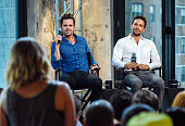 David Walton and Jeremy Sisto attend the AOL Build Speaker Series Presents Jeremy Sisto and David Walton 'Break Point' at AOL Studios on August 31...
