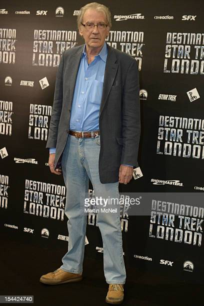 David Warner attends a photocall at Destination Star Trek London at ExCel on October 19 2012 in London England