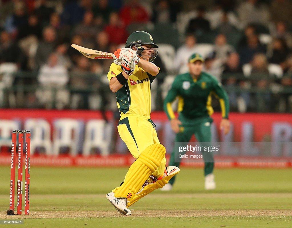 Momentum ODI Series: 5th ODI: South Africa v Australia : News Photo