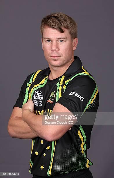 David Warner on September 13 2012 in Colombo Sri Lanka