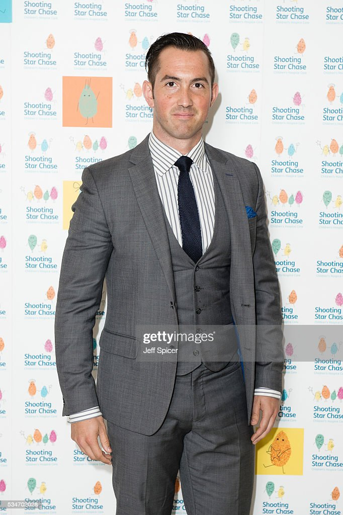 David Webb arrives for Star Chase Children's Hospice Event at The Dorchester on May 27, 2016 in London, England.