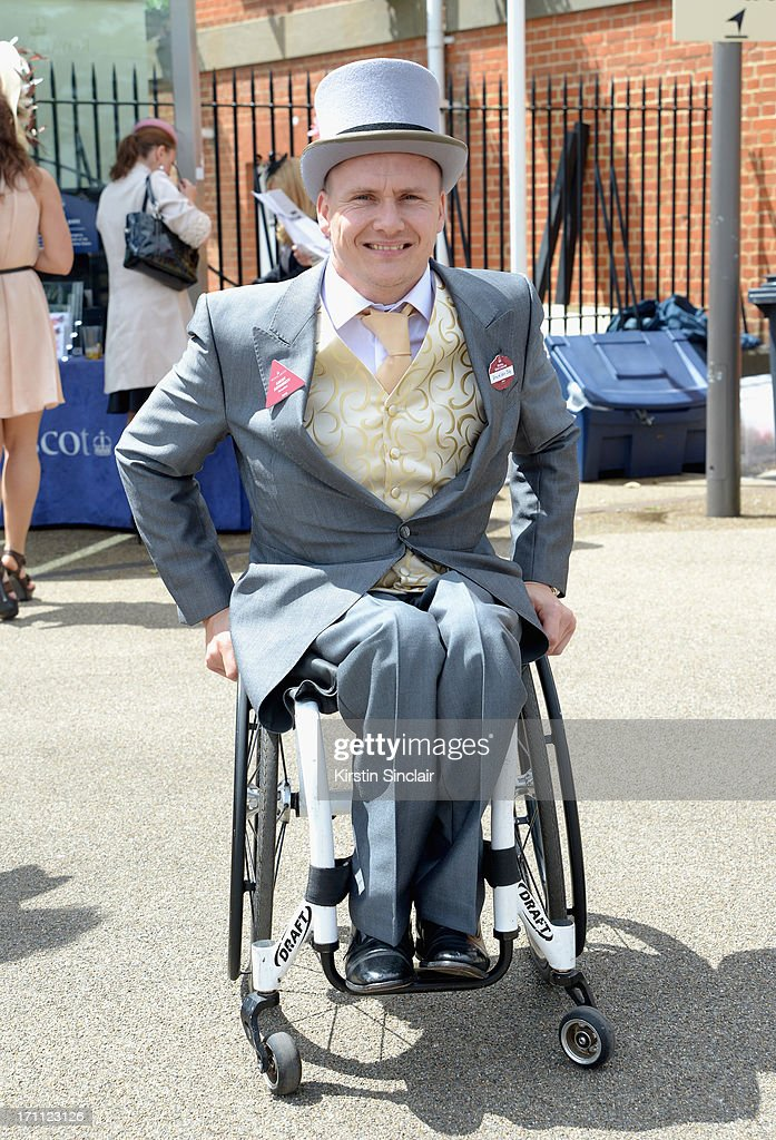 David Weir attends day five of Royal Ascot at Ascot Racecourse on June 22, 2013 in Ascot, England.