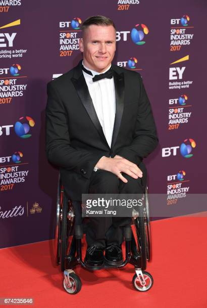 David Weir attends the BT Sport Industry Awards at Battersea Evolution on April 27 2017 in London England