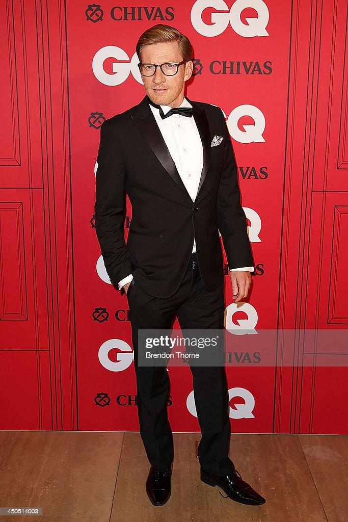 David Wenham arrives at the GQ Men of the Year awards at the Ivy Ballroom on November 19, 2013 in Sydney, Australia.