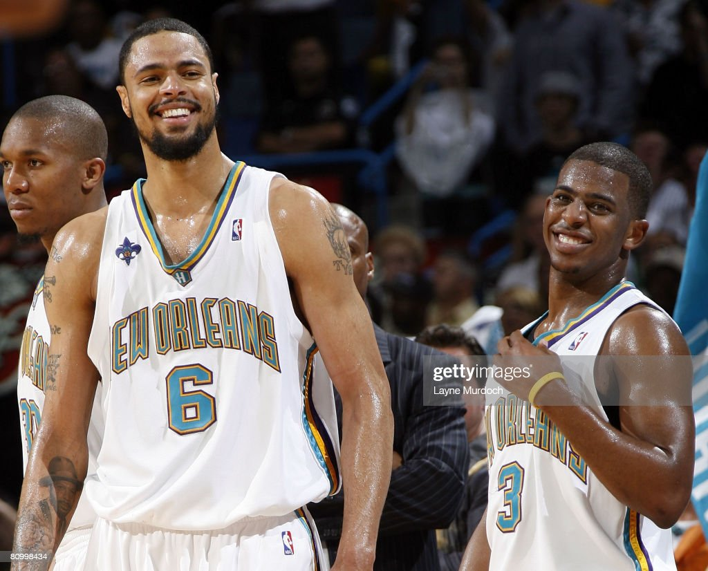 San Antonio Spurs v New Orleans Hornets Game 2 s and