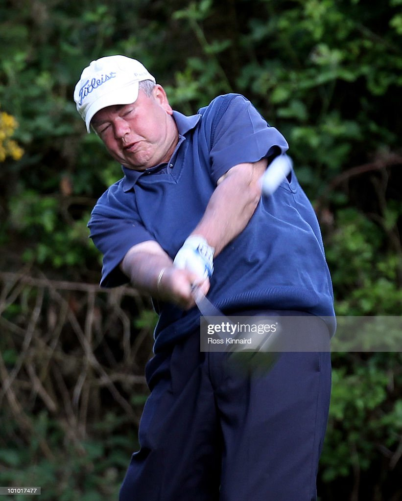 David Wheeler during the second round of the Senior PGA Professional Championship at Northamptonshire County Golf Club on May 27, 2010 in Northampton, England.