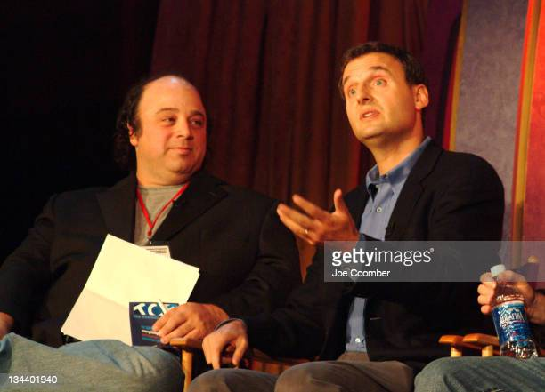 David Wild and Phil Rosenthal during The Comedy Festival 'Everybody Loves Raymond' at Caesar's Palace in Las Vegas Nevada United States