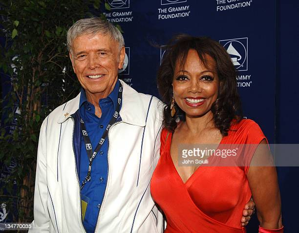 David Williams and Florence LaRue during Starry Night Benefit Honoring Los Angeles Mayor Antonio Villaraigosa Red Carpet at Villa Casablanca in...