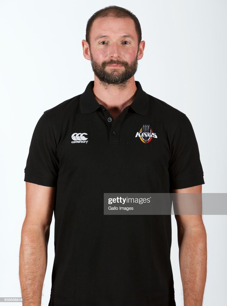 David Williams, Attack coach, during Southern Kings photocall session at Nelson Mandela Bay Stadium on February 16, 2017 in Port Elizabeth, South Africa.