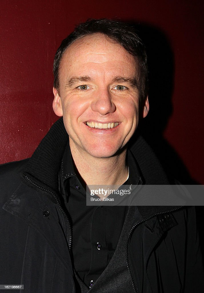 David Wilson Barnes attends 'Really, Really' on Opening Night at the Lucille Lortel Theatre on February 19, 2013 in New York, United States.