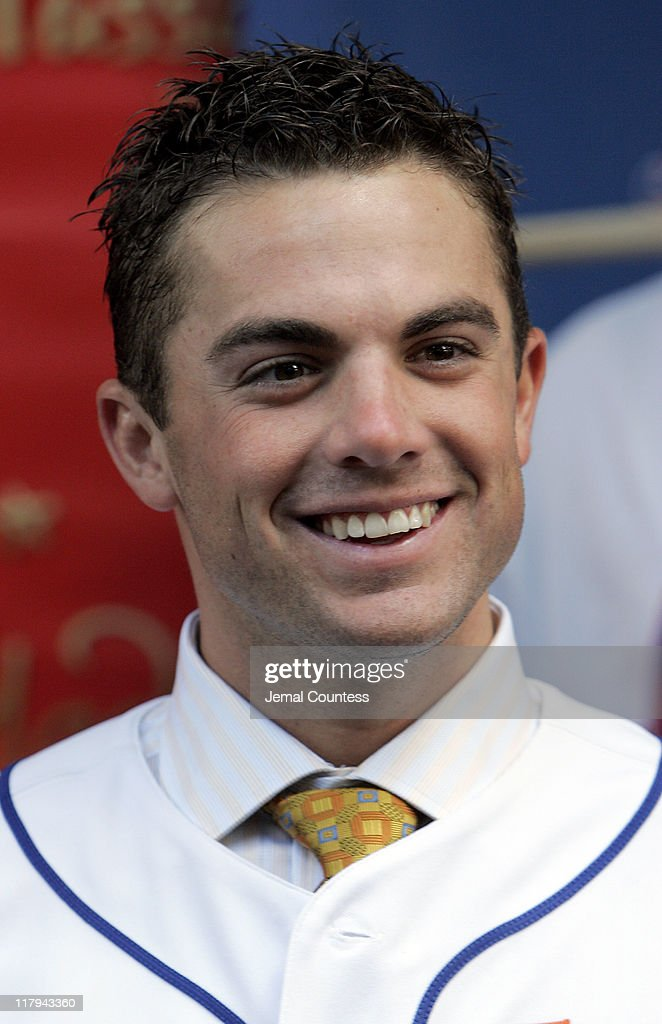 David Wright Attends the Unveiling of his Wax Figure at Madame Tussauds New York