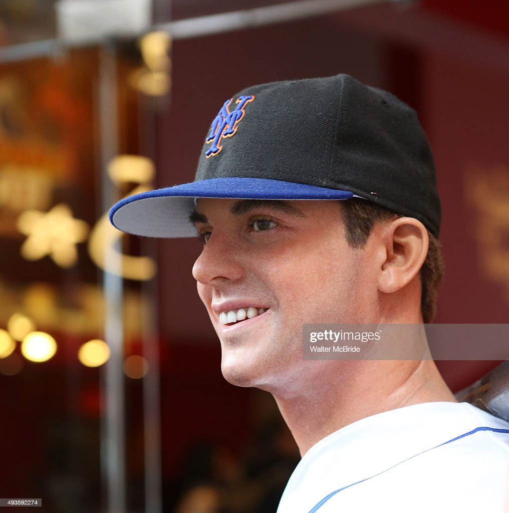 A <b>David Wright</b> from the N.Y. Mets wax figure is on view outside Madame ... - david-wright-from-the-ny-mets-wax-figure-is-on-view-outside-madame-picture-id493592274