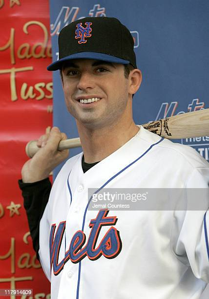 David Wright wax figure during David Wright Attends the Unveiling of his Wax Figure at Madame Tussauds New York at Madame Tussauds in New York City...