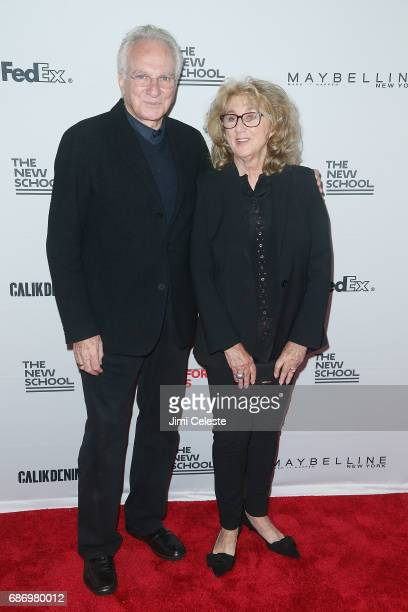 David Yurman and Sybil Yurman attends the 69th annual Parsons benefit at Pier Sixty at Chelsea Piers on May 22 2017 in New York City
