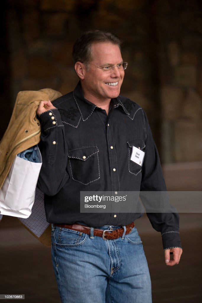 David Zaslav, president and chief executive officer of Discovery Communications Inc., arrives at the Allen & Co. Media and Technology Conference in Sun Valley, Idaho, U.S., on Tuesday, July 6, 2010. Media moguls at Allen & Co.'s annual conference, usually on the prowl for the next big deal, are paying more attention to small screens as they confront rapidly shifting consumer tastes. Photographer: Matthew Staver/Bloomberg via Getty Images