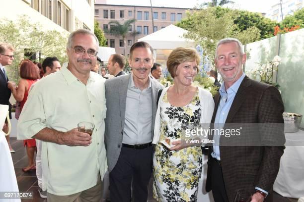 David Zawieja Research Network Executive Director William Repicci Christine Schlaht and Dennis Schlaht attend Academy Award Winner and LERN...