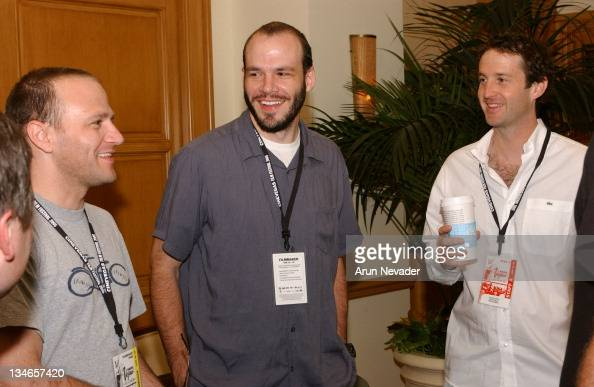 David Zellner director Nathan Zellner director of 'Foxy and the Weight of the World' and Trevor Groth director of Programming for CineVegas