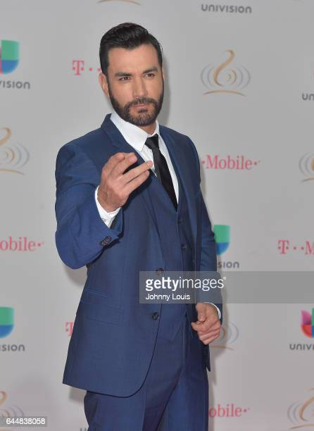 David Zepeda attends Univision's 29th Edition of Premio Lo Nuestro A La Musica Latina at the American Airlines Arena on February 23 2017 in Miami...
