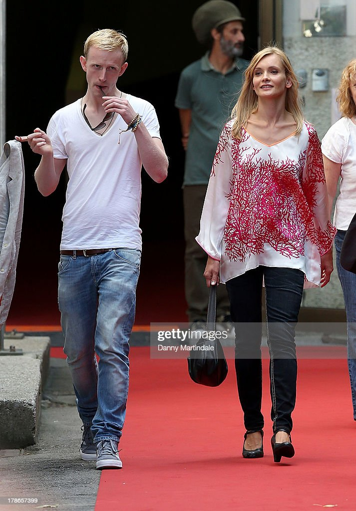 David Zimmerschied and Alexandra Finder attends day 3 of the 70th Venice International Film Festival on August 30, 2013 in Venice, Italy.