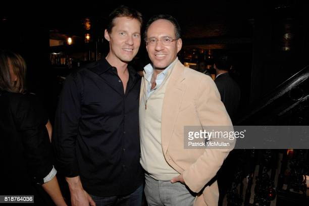 David Zinczenko and Andrew Saffir attend THE CINEMA SOCIETY hosts the after party of 'MULTIPLE SARCASMS' at The Lion on April 19 2010 in New York City