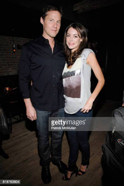 David Zinczenko and Melissa Milne attend THE CINEMA SOCIETY hosts the after party of 'MULTIPLE SARCASMS' at The Lion on April 19 2010 in New York City