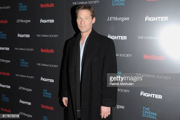 David Zinczenko attend THE CINEMA SOCIETY with MEN'S HEALTH JP MORGAN CHASE FOUNDATION screening of 'THE FIGHTER' to benefit THE CINEMA SCHOOL at SVA...