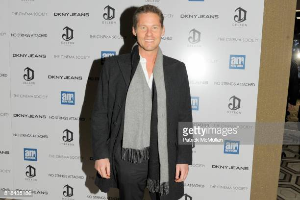David Zinczenko attends a Screening of 'NO STRINGS ATTACHED' Hosted By THE CINEMA SOCIETY with DKNY JEANS DELEON Tequila amNewYork at Soho Grand...