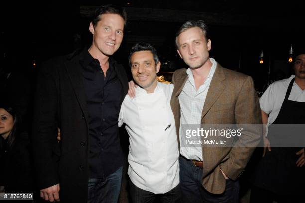 David Zinczenko John DeLucie and Dan Abrams attend THE CINEMA SOCIETY hosts the after party of 'MULTIPLE SARCASMS' at The Lion on April 19 2010 in...