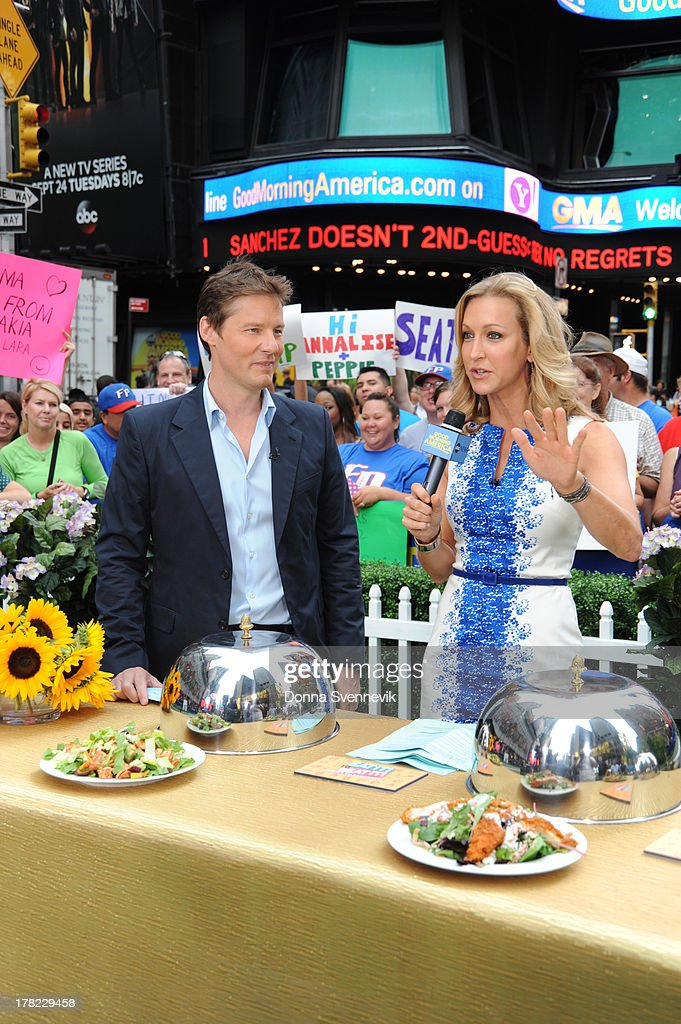 AMERICA - David Zinczenko offers some healthy diet alternatives on 'Good Morning America,' 8/27/13, airing on the ABC Television Network. DAVID