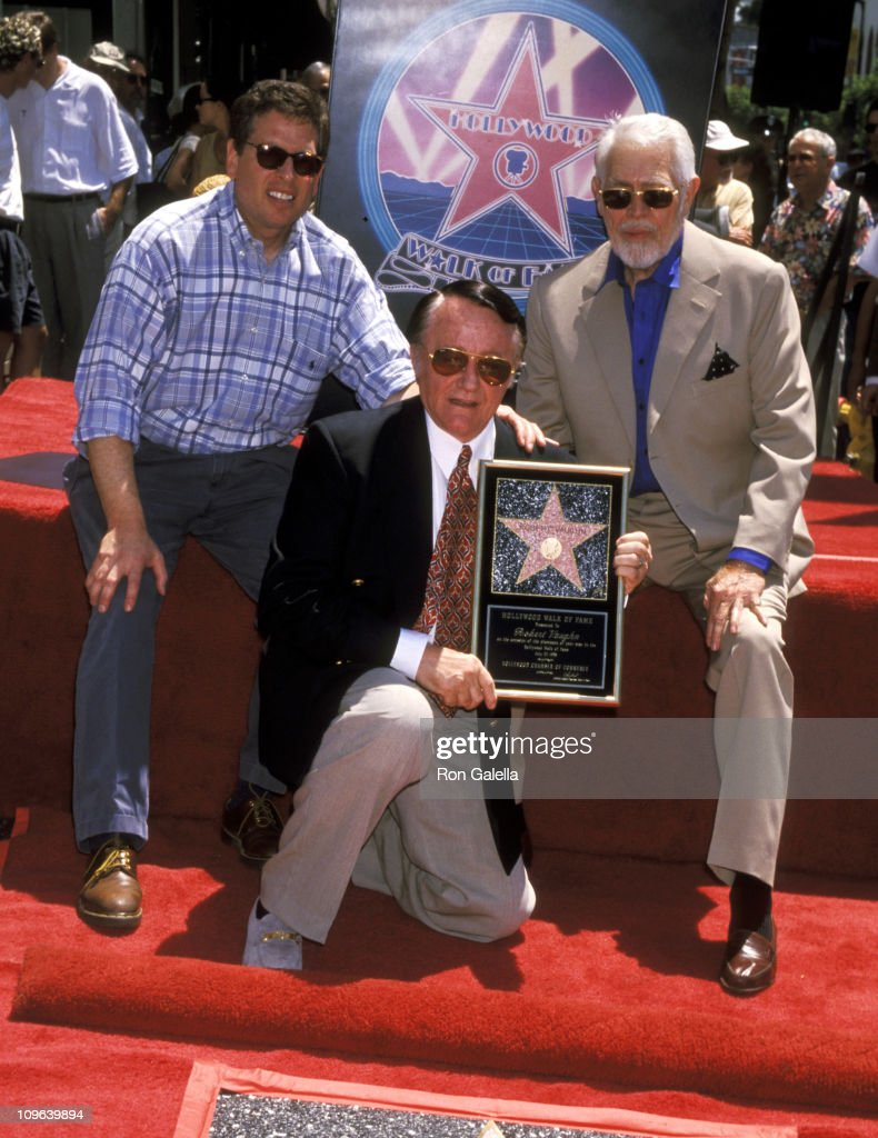 Robert Vaughn Honored with a Star on the Hollywood Walk of Fame for his Achievements in Film