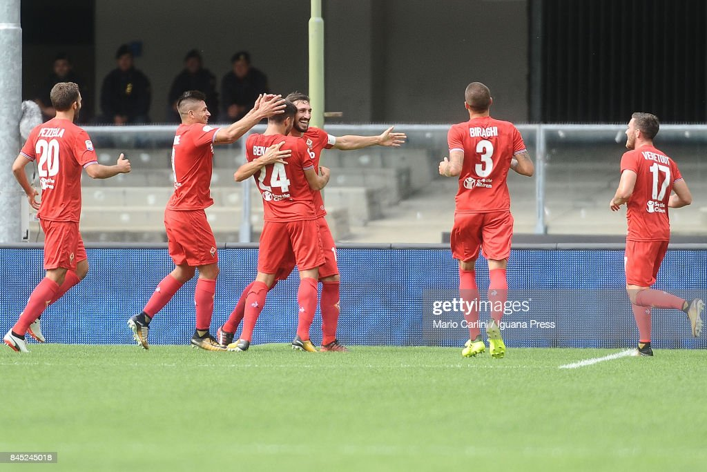 Hellas Verona FC v ACF Fiorentina - Serie A : News Photo