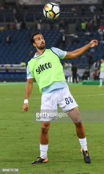 Davide Di Gennaro during the Italian SuperCup TIM football match Juventus vs lazio on August 13 2017 at the Olympic stadium in Rome