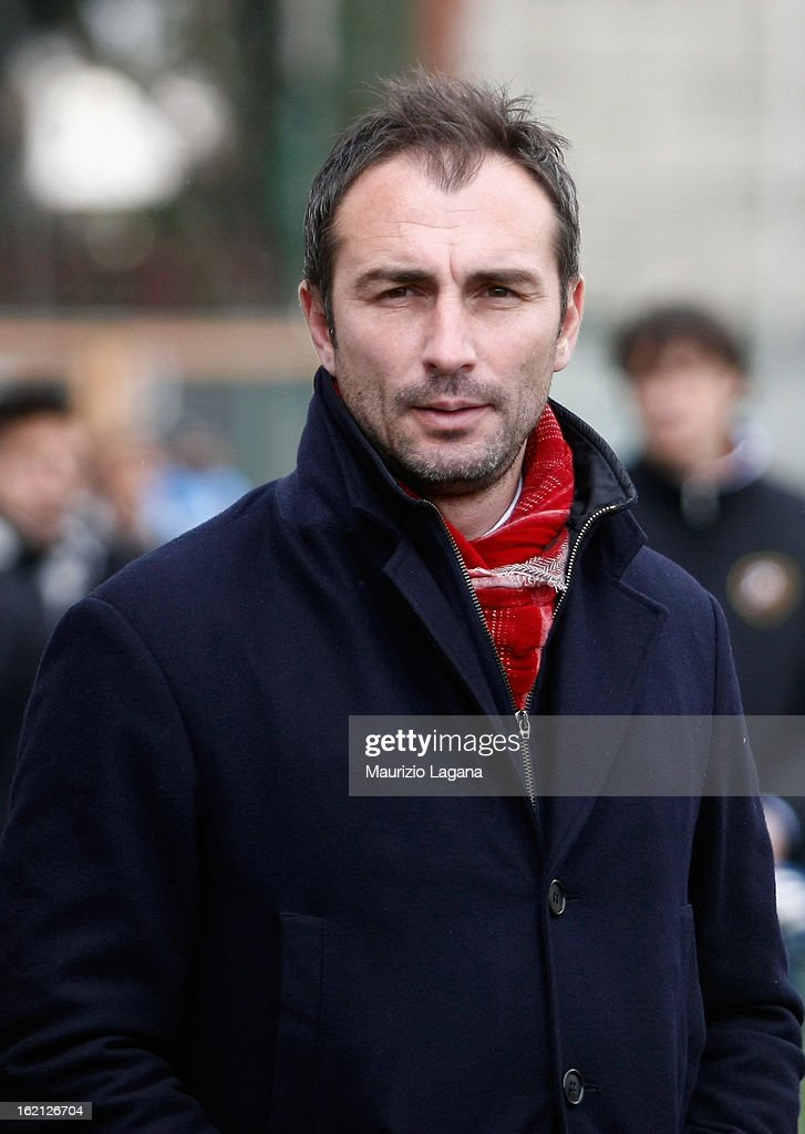 Davide Dionigi, head coach of Reggina during the Serie B match between Reggina Calcio and Calcio Padova on February 16, 2013 in Reggio Calabria, Italy.