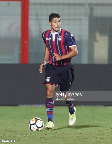 Davide Faraoni of Crotone during the PreSeason Friendly match between FC Crotone and Cagliari Calcio at Stadio Comunale Ezio Scida on August 5 2017...
