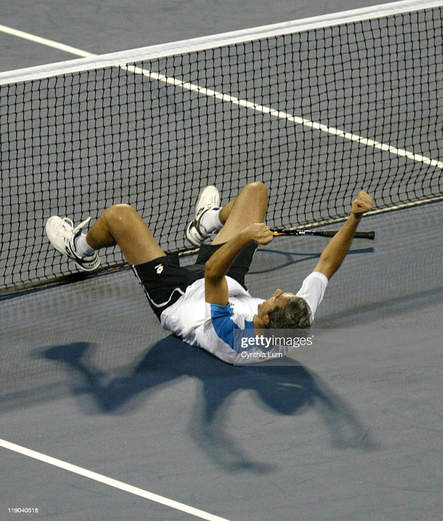 2005 US Open - Men's Singles - Third Round - Davide Sanguinetti vs Paradorn
