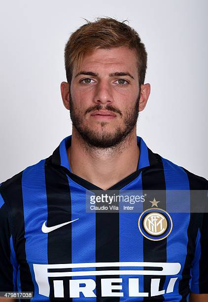 Davide Santon of FC Internazionale poses for his Serie A 20152016 season official headshot at Riscone di Brunico on July 7 2015 in Bruneck Italy