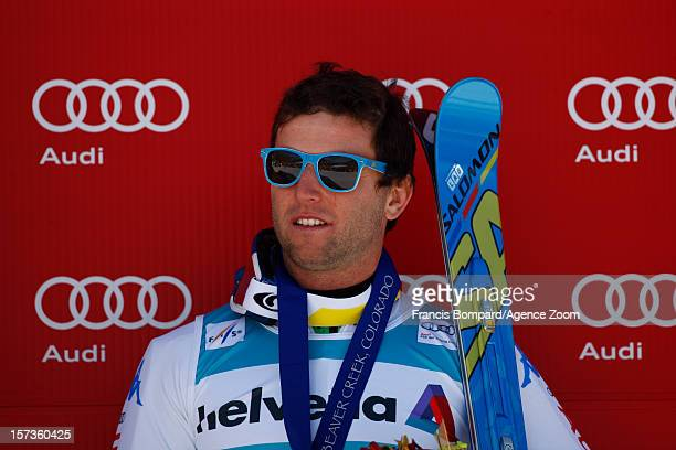 Davide Simoncelli tof Italy competes during the Audi FIS Alpine Ski World Cup Men's Giant Slalom on December 2 2012 in Beaver Creek Colorado