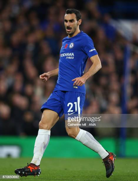 Davide Zappacosta of Chelsea during the Premier League match between Chelsea and Manchester United at Stamford Bridge on November 5 2017 in London...