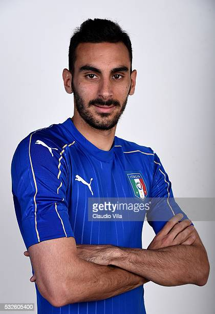Davide Zappacosta of Italy poses during the official portrait session at Coverciano on May 19 2016 in Florence Italy