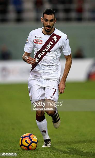 Davide Zappacosta of Torino during the Serie A match between FC Crotone and FC Torino at Stadio Comunale Ezio Scida on November 20 2016 in Crotone...