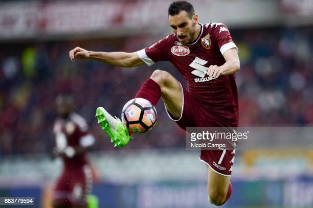 Davide Zappacosta of Torino FC in action during the Serie A football match between Torino FC and Udinese Calcio Final result is 22