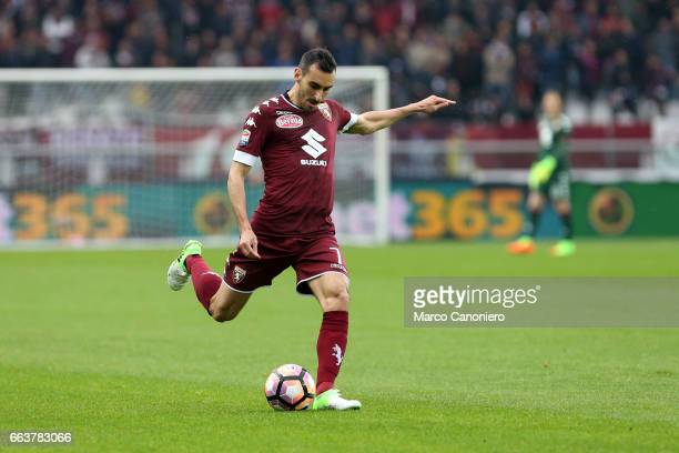 Davide Zappacosta of Torino FC in action during the Serie A football match between Torino FC and Udinese Final result is 22